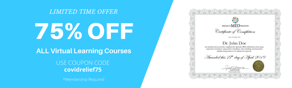 75% off all virtual learning courses
